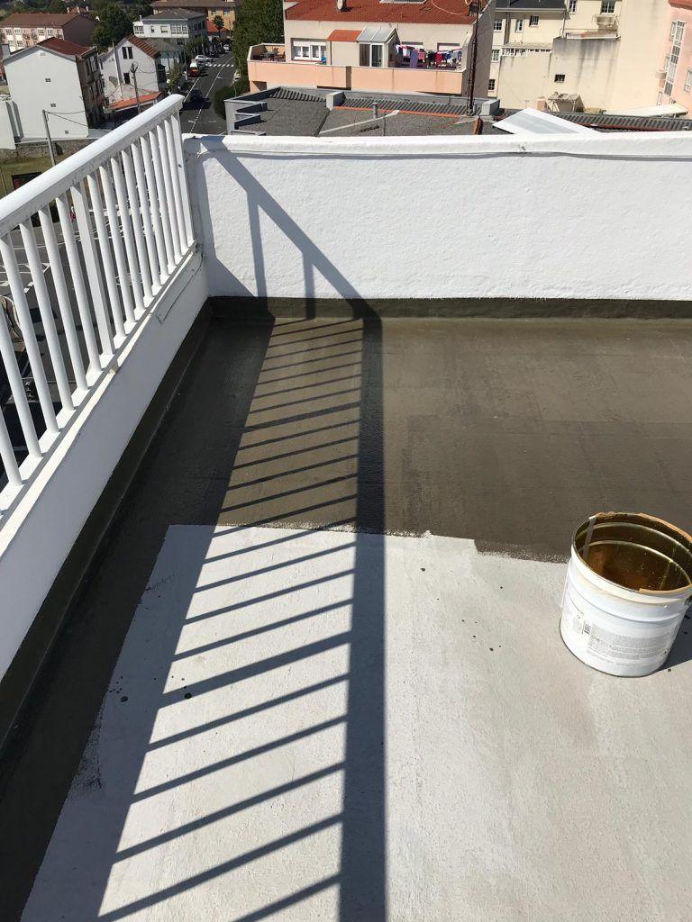 rehabilitación de balcón en Coruña