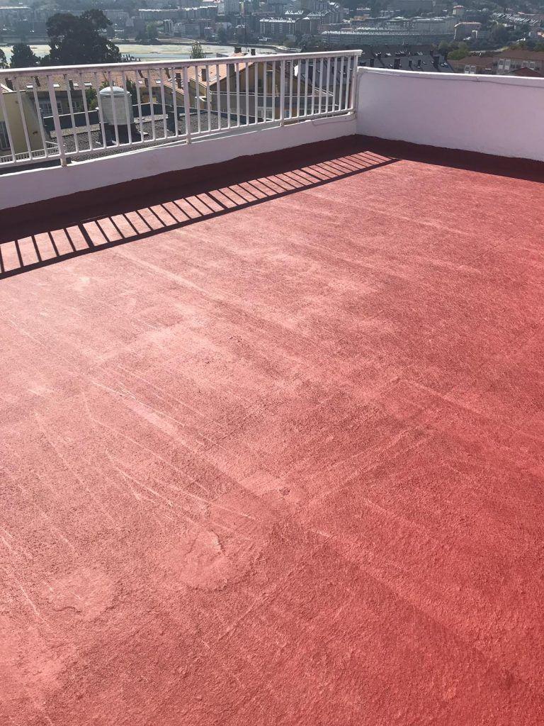 Impermeabilización de balcón de azotea