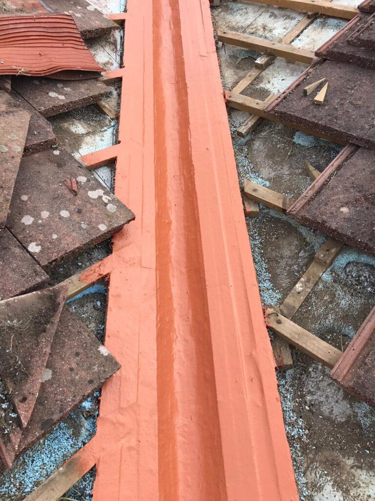 reparación de limahoyas en cubierta