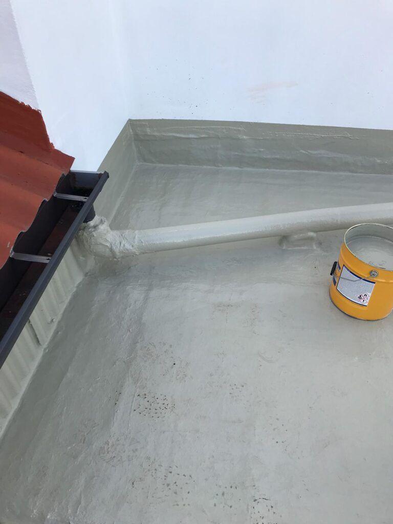 impermeabilización de tejados y cubiertas en Coruña