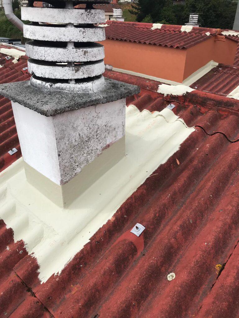 reparaciones puntuales en bandejas de chimenea