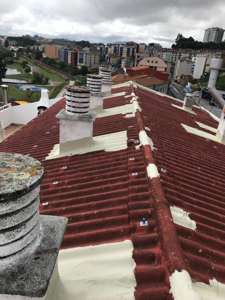 Reparaciones e impermeabilización de tejado