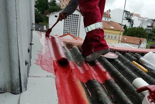 Reparaciones de tejado puntuales.
