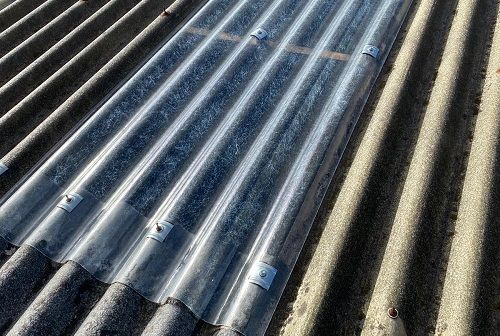 Sustitución de traslucidos en tejado.