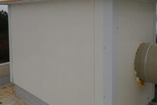 Aislamiento de conductos de ventilación en cubiertas